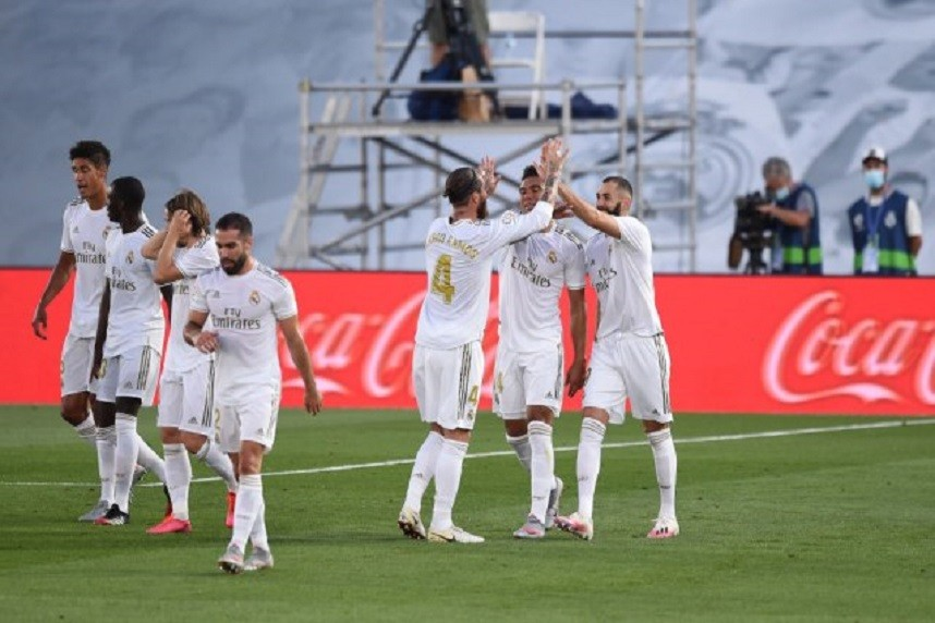 REAL MADRID JE ŠAMPION ŠPANIJE!